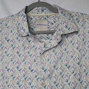 Tommy Bahama Men's 100% Silk Hawaiian Shirt